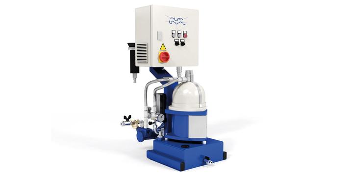 Separazione gasolio / olio idraulico